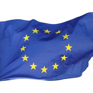 EU Flagge 90x150cm von I love EU – weht bereits bei leichtem Wind