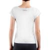Die Rückseite des EU T-Shirt Limassol von I love EU ist weiß. Im Nackenbereich befindet sich ein buntes I love EU Logo.