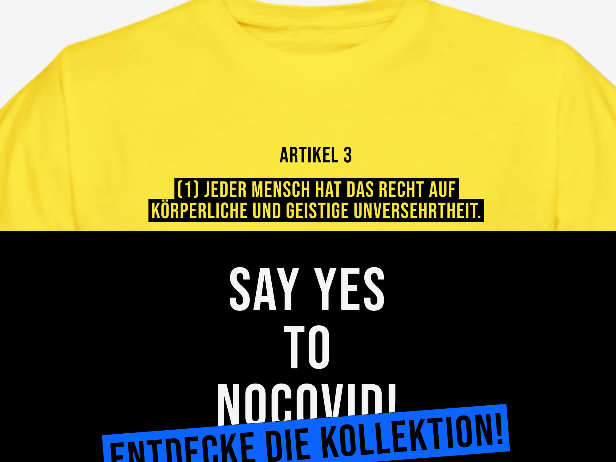 Say yes to no covid